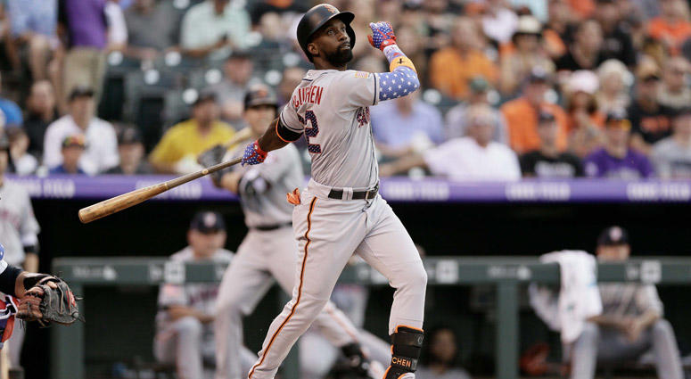 Giants outfielder Andrew McCutchen