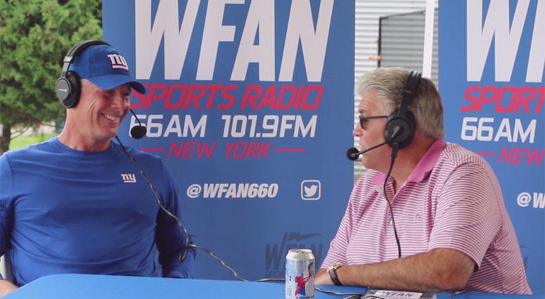 Mike Francesa interview Pat Shurmur from Giants training camp on July 27, 2018