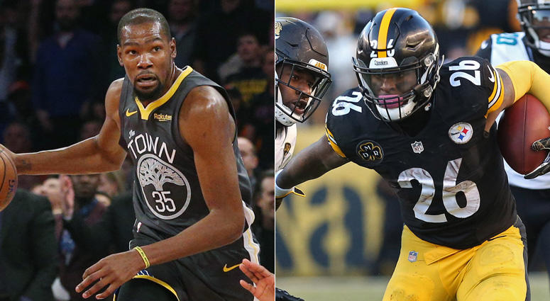 Kevin Durant and Le'Veon Bell