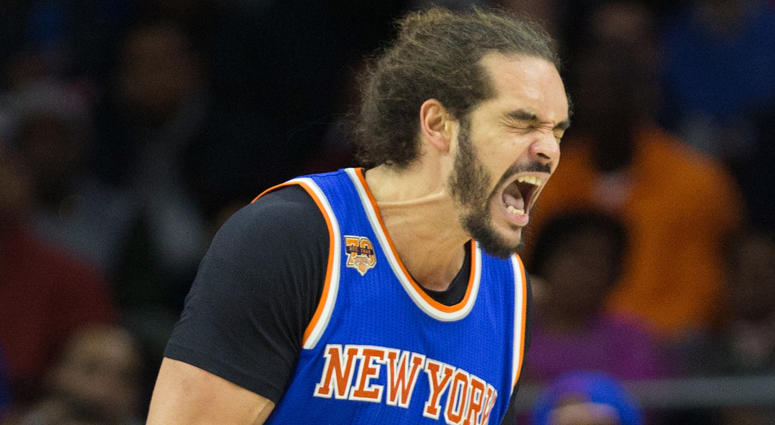 Knicks center Joakim Noah