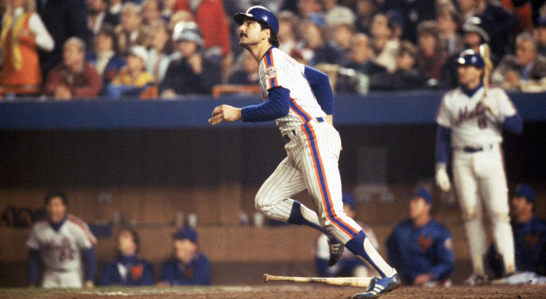 Keith Hernandez in the 1986 World Series