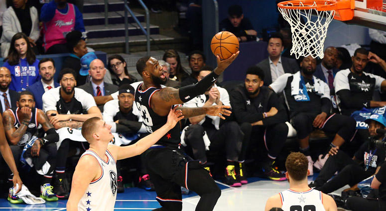 37a10340b Team LeBron Rallies To Beat Team Giannis In NBA All-Star Game