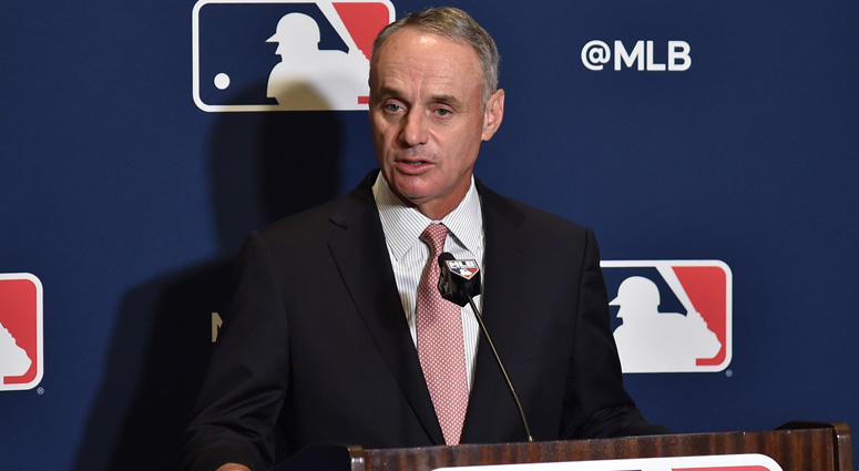 MLB commissioner Rob Manfred