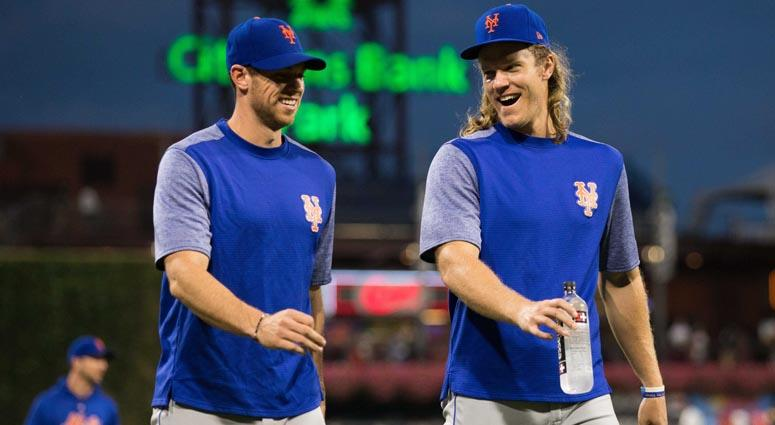 Mets pitchers Noah Syndergaard and Steven Matz