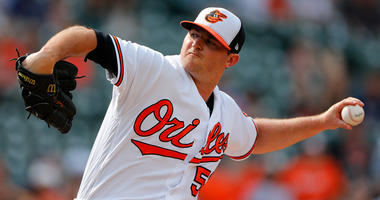 Orioles closer Zach Britton
