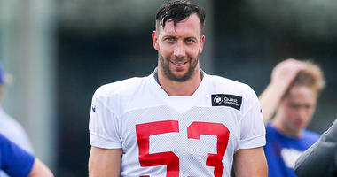 Giants linebacker Connor Barwin