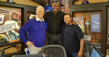 David Robinson stops by the studio to chat with Boomer and Gio.
