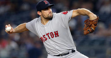 Red Sox pitcher Nathan Eovaldi