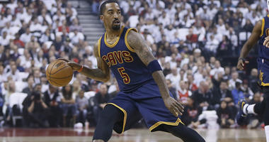 Cavaliers point guard J.R. Smith