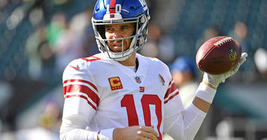 Manning 'Figures' Giants Will Draft QB