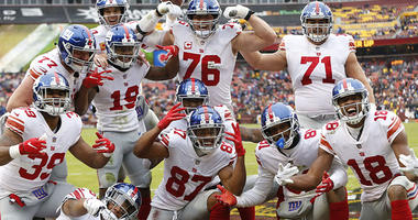 Giants Crush Redskins 40-16, Barkley Runs For 170 Yards