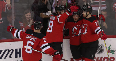 New Jersey Devils Hockey Team Game