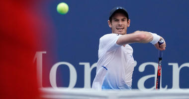 Andy Murray hits to Fernando Verdasco in a second-round match at U.S. Open on Aug. 29, 2018, at the USTA Billie Jean King National Tennis Center.
