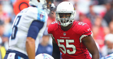 Cardinals defensive end Chandler Jones