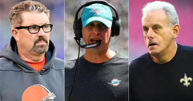 Adam Gase, Gregg Williams and Joe Vitt