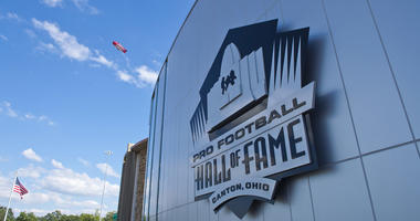 The Pro Football Hall of Fame in Canton, Ohio