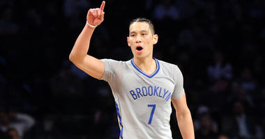 Nets point guard Jeremy Lin