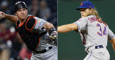 J.T. Realmuto and Noah Syndergaard