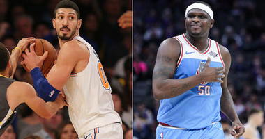 Enes Kanter and Zach Randolph