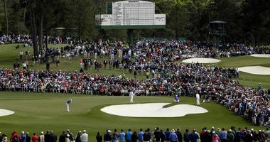 FILE -- A general view of The Masters at Augusta National.