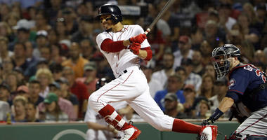 Red Sox outfielder Mookie Betts