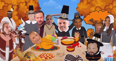 VIDEO: Gio Tells The Story Of The First Thanksgiving