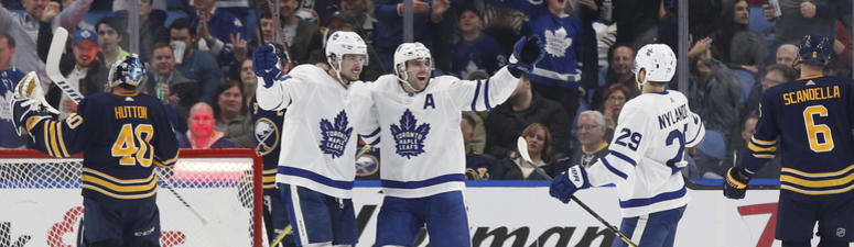 Toronto holds on to beat Sabres 4-2