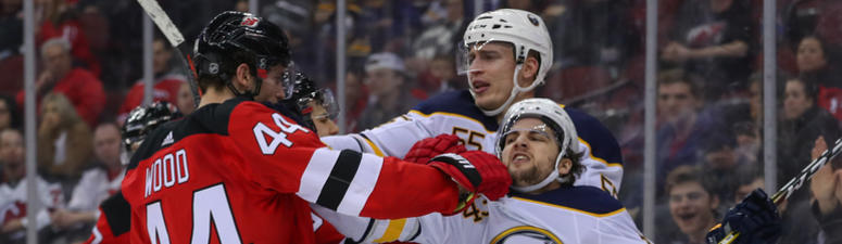 Sabres road woes continue, fall to Devils 3-1