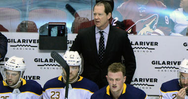 Sabres' Housley took the team through a not-so-fun video session