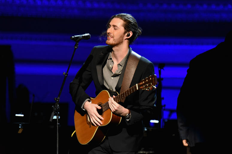 Musician Hozier performs onstage