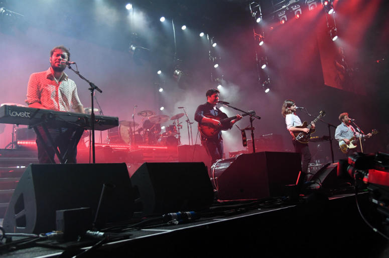 Mumford & Sons performs at American Airlines Arena.