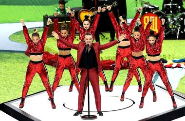 Robbie Williams World Cup Opening Ceremony