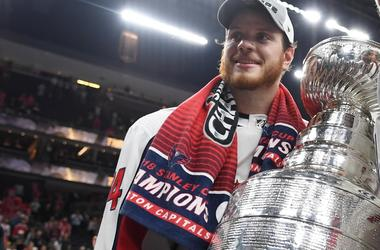 john carlson stanley Cup capitals