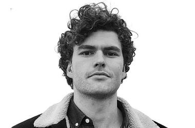 Vance Joy black and white picture