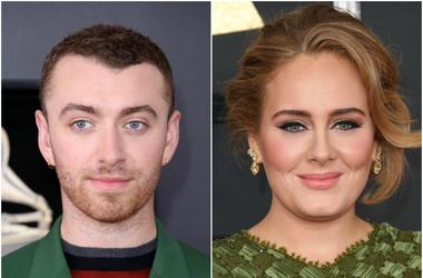 Sam Smith Adele