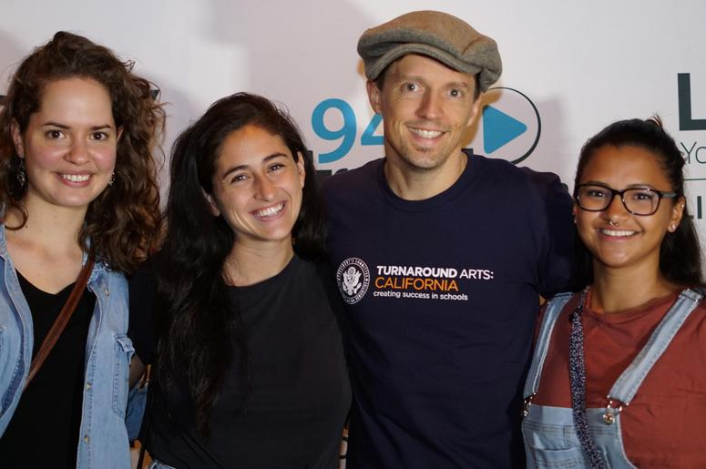 Guests met with Jason Mraz following his performance at The Hamilton Live