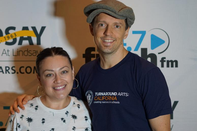 Guests meet with Jason Mraz following his performance at The Hamilton Live.
