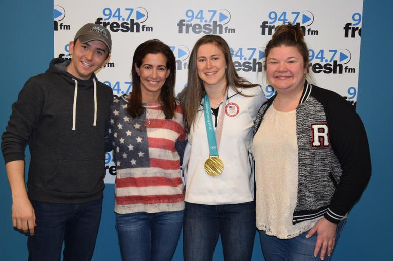 Winter Olympics Gold Medal U.S. Women's Hockey Haley Skarupa Tommy Show