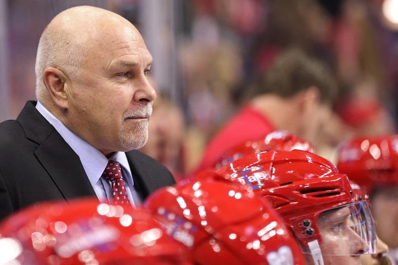 Head Coach Barry Trotz Washington Capitals