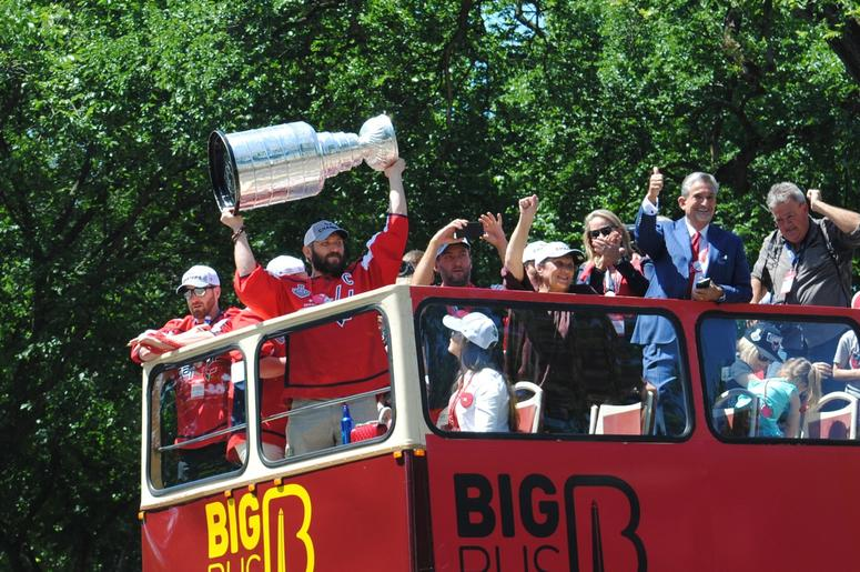 washing capitals stanley cup parade rally