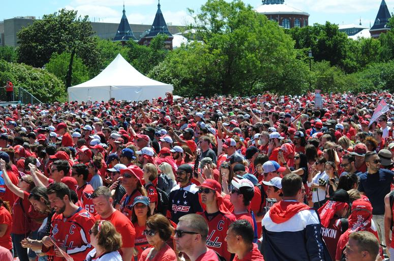 washington capitals stanley cup parade rally