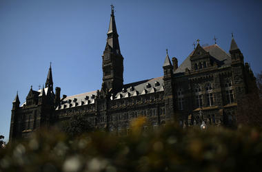 Georgetown University recommended Gordon Ernst amid admissions scandal.