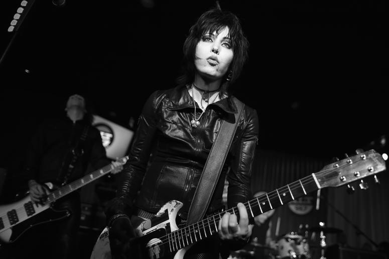 Joan Jett & the Blackhearts spent seven weeks on the top of the billboard charts.