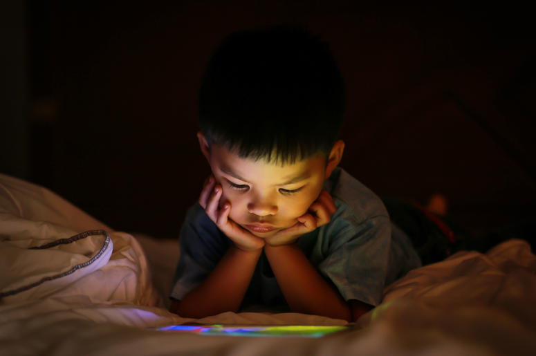 World Health Organization recommeds zero screen time for kids under one.