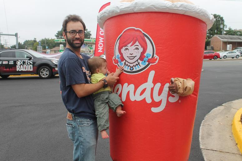 Darik Kristofer and the 94.7 The Drive Street Team visit the Wendy's in Woodbridge for their grand re-opening!