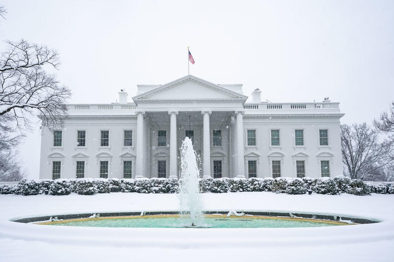 north side of the White House