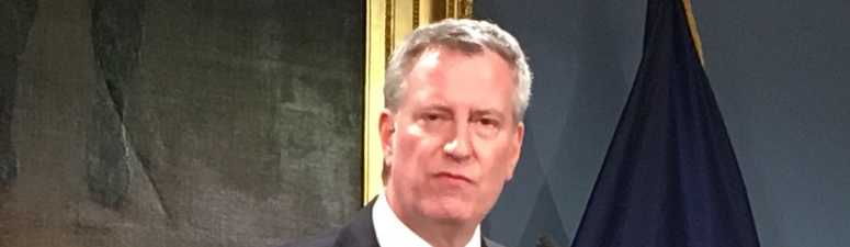 De Blasio: 'Tender Age' Centers For Immigrant Children Are 'Disgusting'