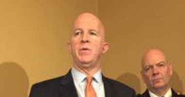 NYPD Commissioner James O'Neill