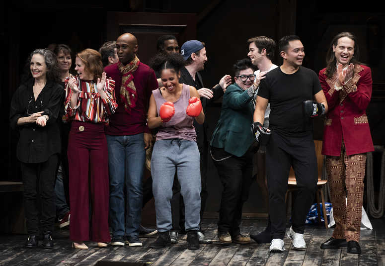 The cast of the 24 Hour Musical.