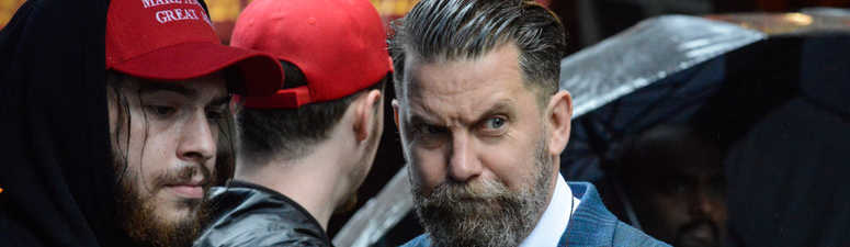 2 arrests, Proud Boys probed after brawl outside GOP club